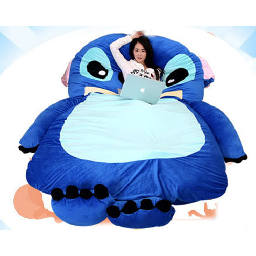 Flounder Stuffed Animal, Giant Stitch Plush Pillow Bed 230cm 7 5ft Toy Better