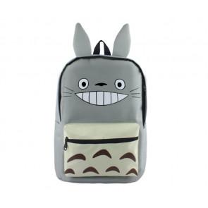 Totoro Grey Backpack Schoolbag Rucksack
