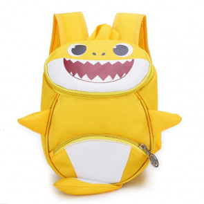 Kids Baby Shark Backpack Schoolbag Rucksack Yellow