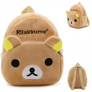 Rilakkuma Kids Soft Small Backpack Schoolbag Rucksack