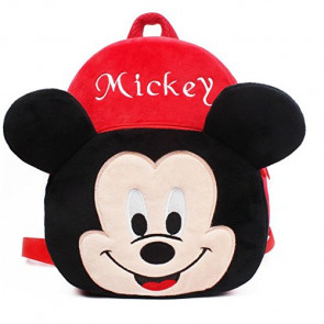Mickey Mouse Kids Soft Small Backpack Schoolbag Rucksack