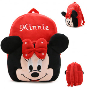 Minnie Mouse Soft Small Backpack Schoolbag Rucksack