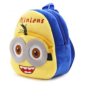 Minion Soft Small Backpack Schoolbag Rucksack