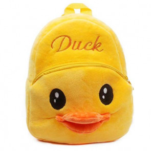 Yellow Duck Soft Small Backpack Schoolbag Rucksack