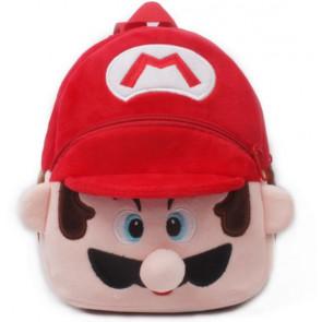 Mario Soft Small Backpack Schoolbag Rucksack