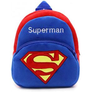 Superman Soft Small Backpack Schoolbag Rucksack