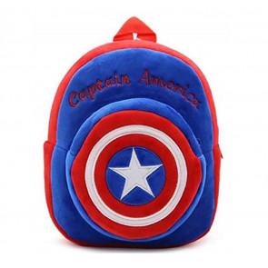 Captain America Soft Small Backpack Schoolbag Rucksack