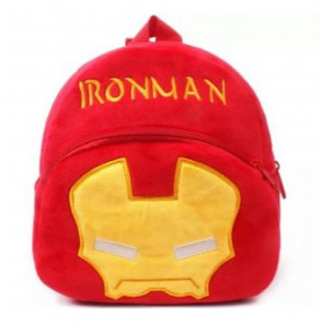 Iron Man Soft Small Backpack Schoolbag Rucksack