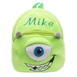 Mike Monsters Inc Soft Small Backpack Schoolbag Rucksack