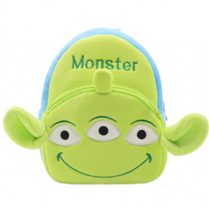 Toy Story Alien Soft Small Backpack Schoolbag Rucksack