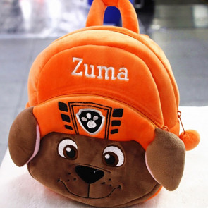 Zuma Paw Patrol Soft Small Backpack Schoolbag Rucksack