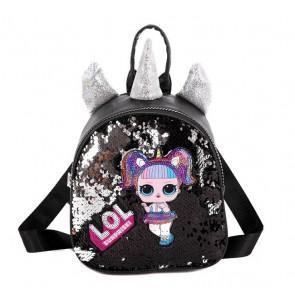 LOL Surprise Unicorn Backpack Rucksack Schoolbag