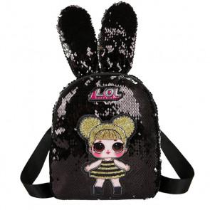 LOL Surprise Queen Bee Rabbit Ears Backpack Rucksack Schoolbag