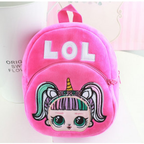 Toddler LOL Doll Soft Backpack Rucksack Schoolbag