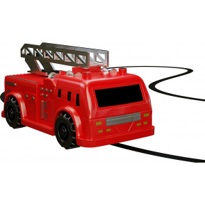 Magic Inductive Truck Follows Black Line Fire Truck