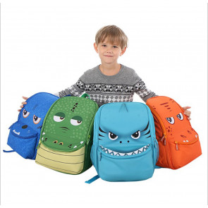 Monster 3D Shape Backpack Schoolbag Rucksack