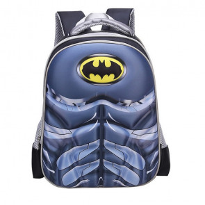 Batman Kids 3D Backpack Schoolbag Rucksack