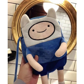 Adventure Time Finn the Human Kids Plush Backpack