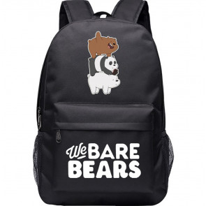We Bare Bears Backpack Schoolbag Rucksack