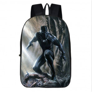 Black Panther Backpack Schoolbag Rucksack