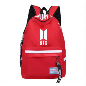 BTS Stripe Rucksack Backpack Schoolbag