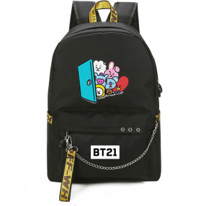 BTS BT21 Rucksack Backpack Schoolbag