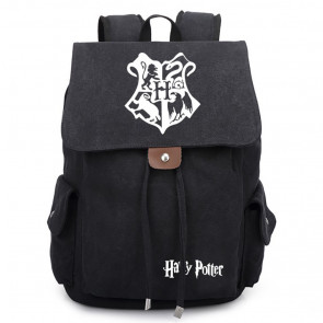 Harry Potter Wizards Unite Canvas Backpack Schoolbag Rucksack