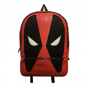 Deadpool Mask Shape Backpack Schoolbag Rucksack