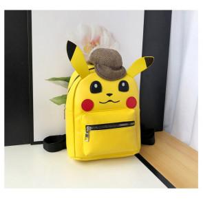 Detective Pikachu Backpack Rucksack Schoolbag
