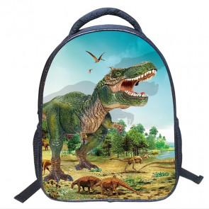 Dinosaur Durable Backpack Schoolbag Rucksack