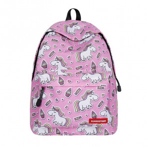 Unicorn Ice Cream Durable Backpack Schoolbag Rucksack