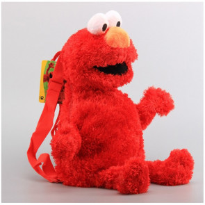 Elmo Shape Kids Backpack Schoolbag Rucksack
