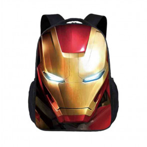 Kids Iron Man Backpack Schoolbag Rucksack