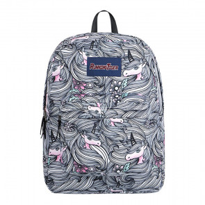 Unicorn Long Hair Durable Backpack Schoolbag Rucksack