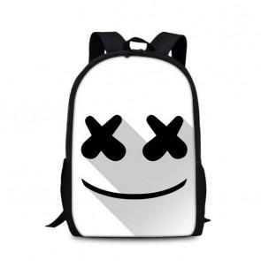 Marshmello Backpack Schoolbag Rucksack