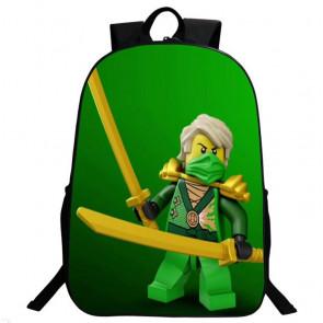 Ninjago Lloyd ZX Green Ninja Backpack Schoolbag Rucksack