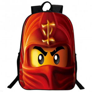 Ninjago Kai Red Ninja Backpack Schoolbag Rucksack