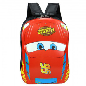 Cars McQueen Hard Plastic Kids Backpack Schoolbag Rucksack