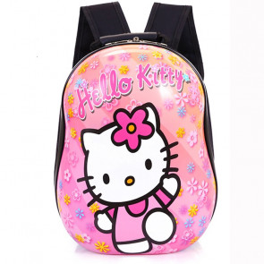 Hello Kitty Hard Plastic Kids Backpack Schoolbag Rucksack