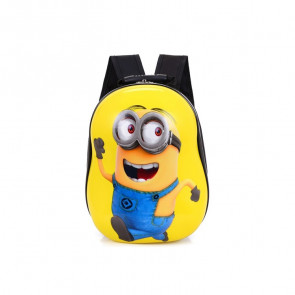 Minion Hard Plastic Kids Backpack Schoolbag Rucksack