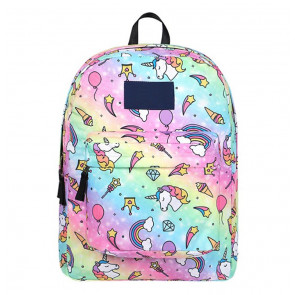 Rainbow Unicorn Durable Backpack Schoolbag Rucksack