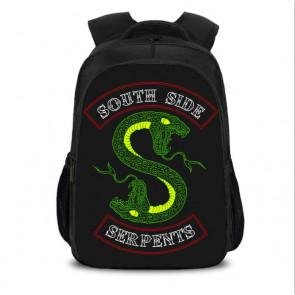 Riverdale South Side Serpents Backpack Schoolbag Rucksack