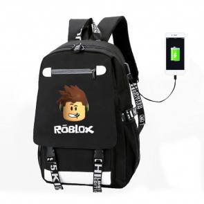 Roblox Canvas High Quality Rucksack Backpack Schoolbag