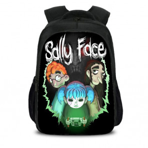 Sally Face Backpack Schoolbag Rucksack