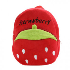 Strawberry Soft Small Backpack Schoolbag Rucksack