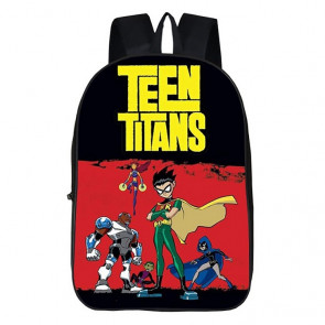 Teen Titans Go Black Rucksack Backpack Schoolbag