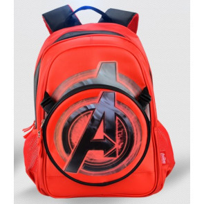 Captain America Boys Backpack Age 5 to 12, 17 inch