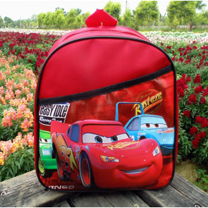 Cars Lightning McQueens Kids Backpack Rucksack