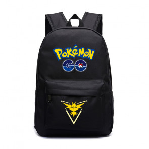 Pokemon Go Team Instinct Yellow Black Backpack