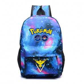 Pokemon Go Team Instinct Yellow - Galaxy Backpack